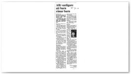 Allt vanligare barn rånar barn NT 3/10/2000