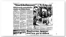 stockholmsnatt '' i Nyköping '' Torsdagen 23/4/1987